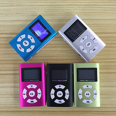 "32GB MP3 MP4 Player 1.8"" LCD Music Media FM Radio Video + Mini USB 5 Color best*"
