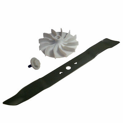 GreenWorks Genuine OEM Replacement Blade, Bolt and Fan Kit Combo # COMBO00129