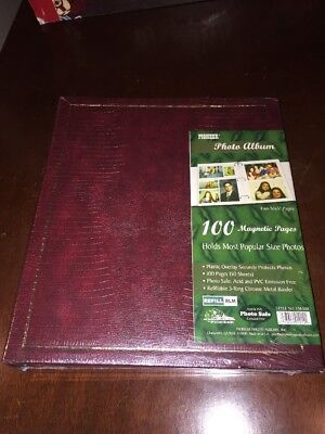 100-page 3-ring Binder Magnetic Photo Album, Pioneer, LM100