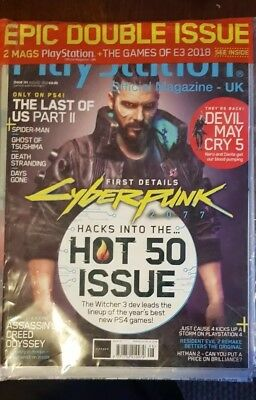 Playstation Official magazine UK issue 151 2018 Epic Double Issue