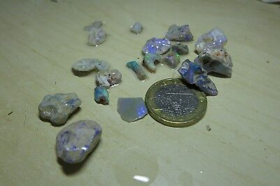 Lot roh Opale, Lightning Ridge 55ct.