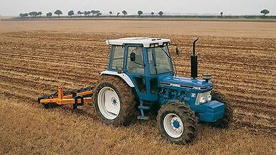 Ford Tractors Series 10 Workshop Manual  On Cd Or Download