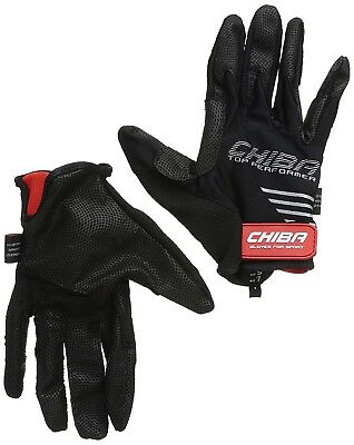 (Small, Black) - Chiba Gloves Top Performer Horse Riding Glove