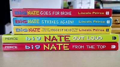 Big Nate by Lincoln Peirce ,series collection