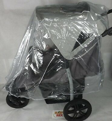 New Raincover Rain Cover For Large Pushchair Hauck Mothercare Urban Detour +