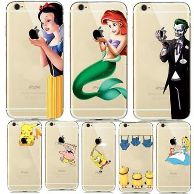 Creative Soft Silicone Case Cover TPU Apple iPhone 6 6s Eco Friendly Dirt Resist