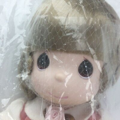 Precious Moments Angela Doll Praying Hands 12 Inch Vintage New In Package