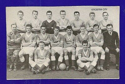 LEICESTER CITY FC  The FILBERTS The FOXES  Star Team of 1961  TEAM NAMED