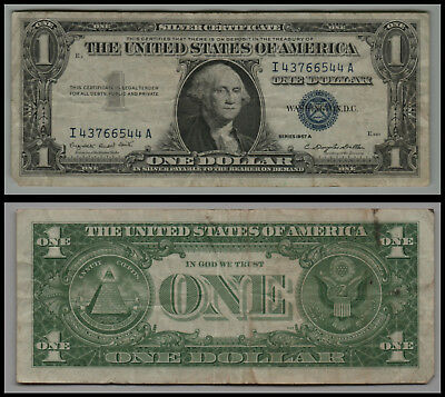 1957A $1 Great Silver Certificate Blue Seal V224