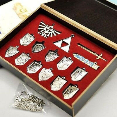 The Legend of Zelda Triforce Hylian Shield, Master Sword Set Weapons Collection
