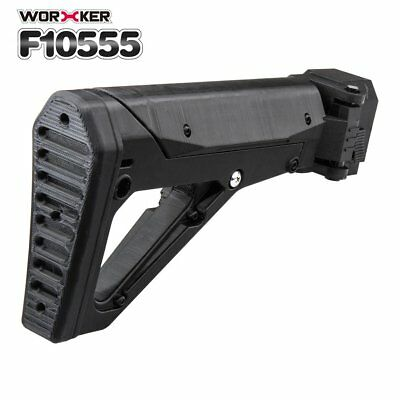 Worker Mod Shoulder Stock 3D Printing Foldable Tail Stock For Nerf N-strike RT