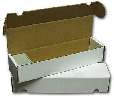 100 BCW Trading Card Storage Boxes (800 Count)   FREE SHIPPING