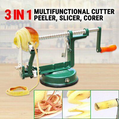 Fruit Peeler Slicer Corer 3In1 Apple Cutter Slinky Machine Peeling Kitchen Tool