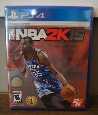 New! NBA 2K15 [Kevin Durant Cover] (Sony PlayStation 4, 2014) - Ships Worldwide!