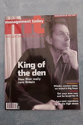 Management Today Magazine: March 2005, Tony Blair, ExCon