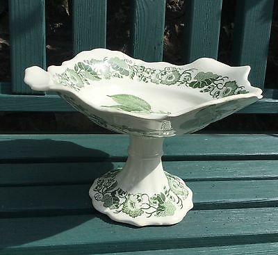 Antique 1830 Copeland Garrett Late Spode Staffordshire Fruit Bowl Rose Camelia