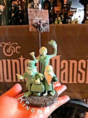 Disney Parks Haunted Mansion Hitchhiking Ghosts Glow in the Dark Photo Holder
