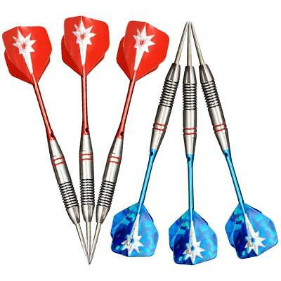 3x Professional Stainless steel Darts  For Competition Indoor Sports Leisure de*