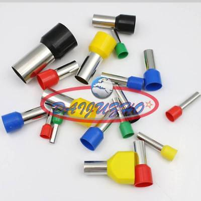 1000× Green Cable Pre-Insulated Ferrules E1508 16AWG Terminal Wiring Connectors