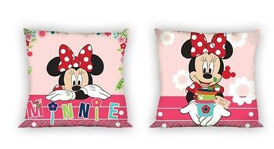 NEW LICENSED Disney MINNIE Mouse Best in Show cushion cover 40x40cm 100% COTTON