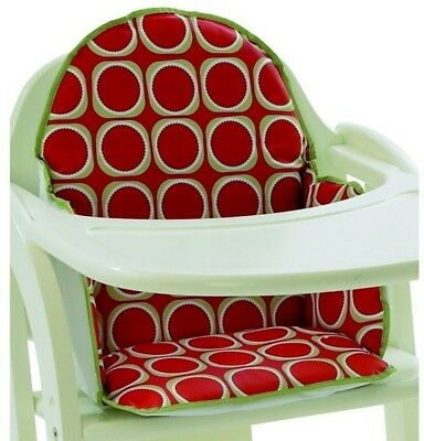 East Coast Cushion Insert High Chair Watermelon Baby Padded Highchair Seat Red
