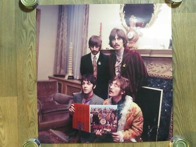 The Beatles Sgt Peppers Lonely Heart Club Band Rare Original 20x20 Photo