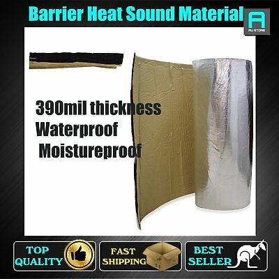 Foam Insulation Sound Deadening Absorbing Thermal Barrier Material 10mm Adhesive