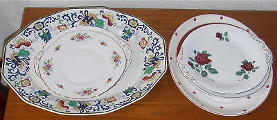 Collection Of Antique and Vintage Plates Wedgwood Doulton Nankin Paragon Job Lot