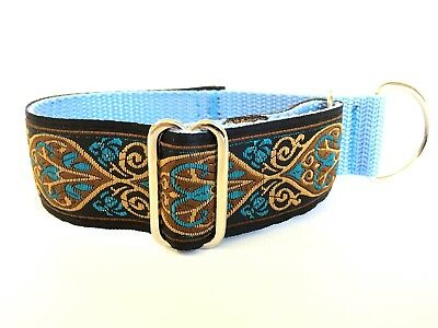 Martingale greyhound collar adjustable whippet Italian Greyhound half pull
