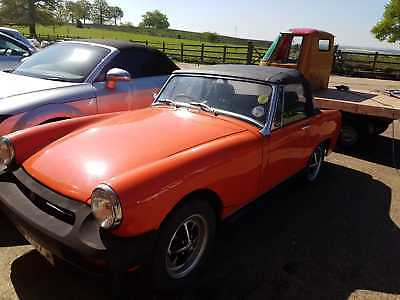 MG Midget, 1976 1500cc  VGC new MOT