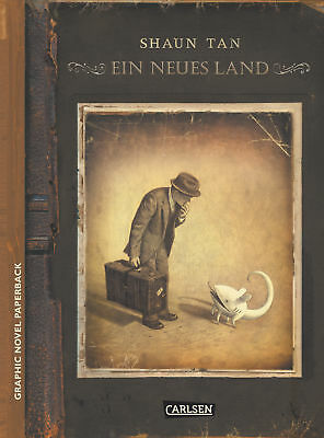 Graphic Novel paperback: Ein neues Land Shaun Tan