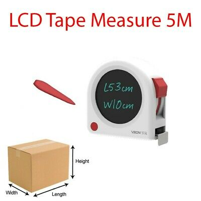 LCD Tape Measure 5M - Never Forget Your Measurements