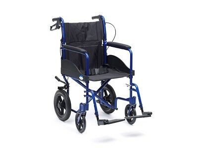 (174.90 EUR/1Stück) Drive Medical Transportrollstuhl Expedition Plus