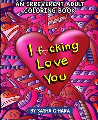 Adult Coloring Book Paperback Love You And Perfect AntiStress Relieving Therapy
