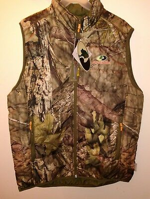 2e1b8627e52b4 Mens 3M Insulated Water Resistant Vest Camo Mossy Oak Large 40-42 Jacket  Hunting