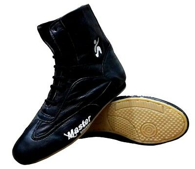 Master Sports Boxing Shoes Leather Tiger Boot Box Light Weight Training Unisex
