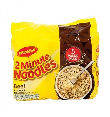 Maggi Noodle 2 Min Beef 5 Pack