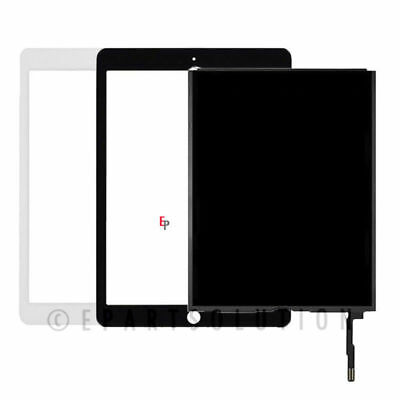 iPad 6th Gen 2018 Ver. LCD Display Touch Screen Digitizer Lens Glass A1893 A1954
