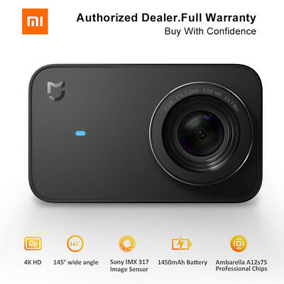Xiaomi Mijia Mini 4K Sport Action Camera Bluetooth Wifi G-sensor 2.4 Touchscreen
