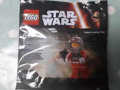 LEGO star wars 5004408 A-wing pilote OVP polybag