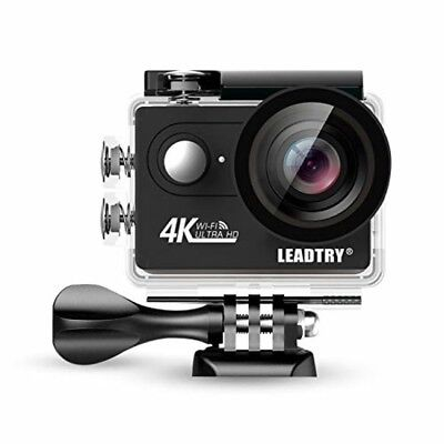 Full 4K HD Action Camera Wifi, Mini 12MP Underwater Photography Cam, 100Ft Water
