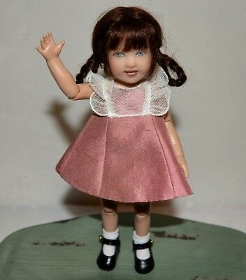 "Kish Doll Debut Kiley Articulated 7.5"" with Box and Tags"