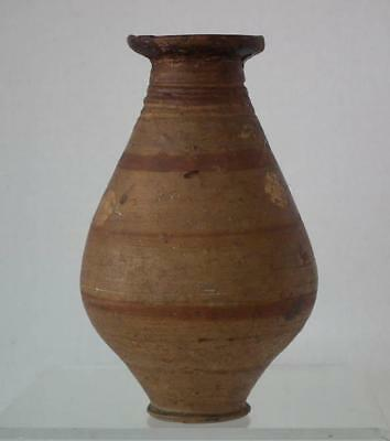Ancient Greek Mycenaean Late Helladic 1425-1100 B.C. Terracotta Pottery Vessel