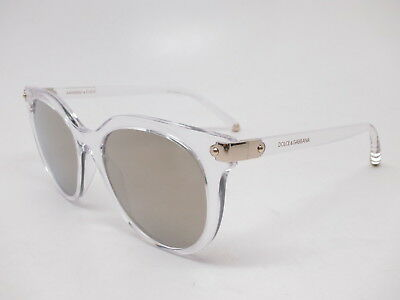 9baca398aa1 New Dolce   Gabbana DG 6117 3133 5A Crystal w Light Brown Mirror Gold