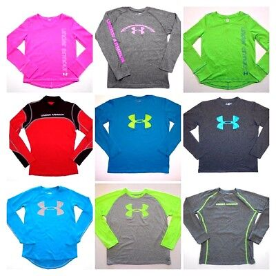 SALE Girls Under Armour Shirts Long Sleeve All sizes