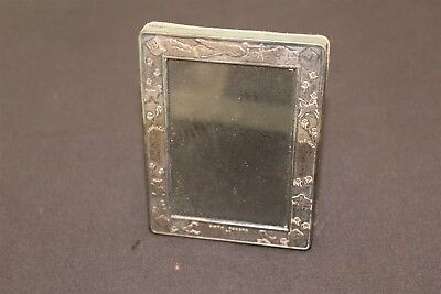"""Silver Plated Baby Picture Frame Can be Personalized 3"""" x 4"""""""