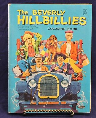 VINTAGE 1963 THE Beverly Hillbillies Coloring Book By Whitman ...