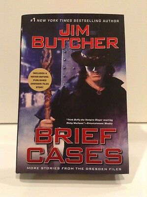 Brief Cases - 1st Edition - Signed by the Author - Jim Butcher - Dresden Files