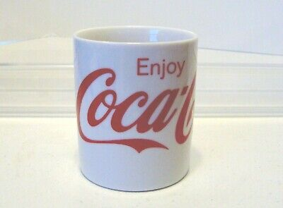 Coca Cola Coffee Mug Cup Gibson  10 fl oz White Red