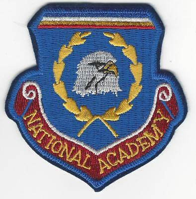 """National Academy 3"""" fully embroidered shield patch"""